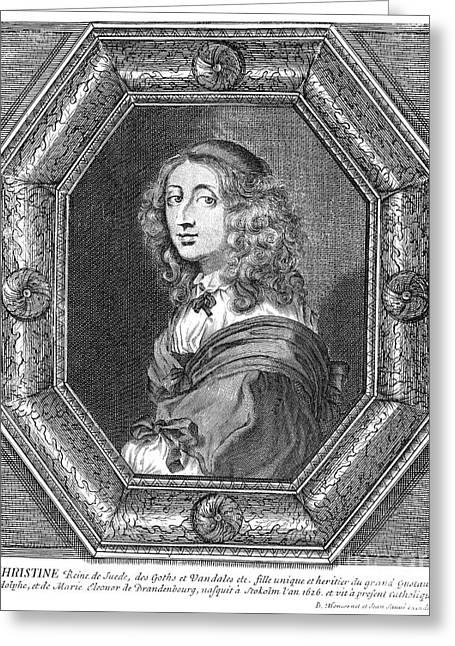 Christina (1626-1689) Greeting Card by Granger