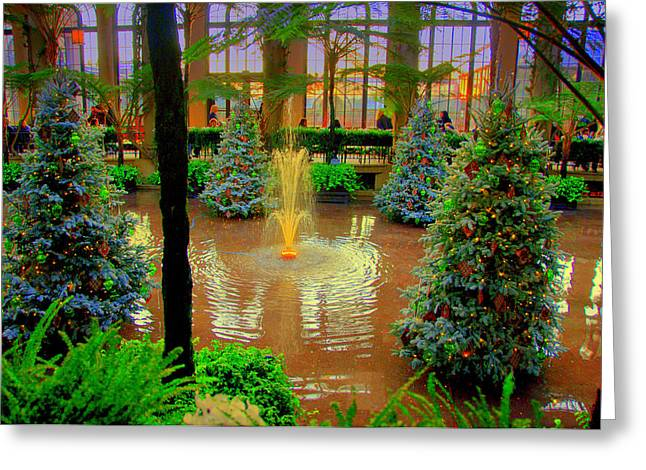 Dupont Gardens Digital Art by Aron Chervin