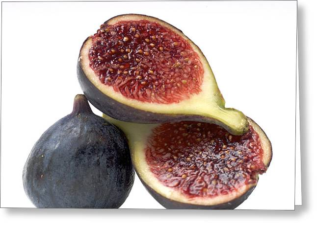 Figs Greeting Card by Bernard Jaubert