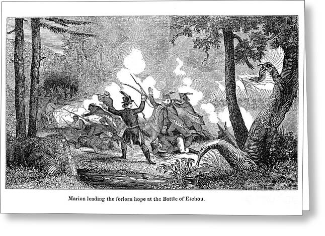 Francis Marion (1732?-1795) Greeting Card by Granger