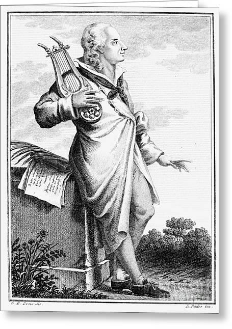 Gotthold Ephraim Lessing Greeting Card