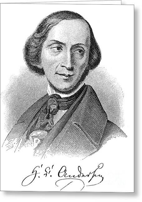 Hans Christian Andersen Greeting Card by Granger