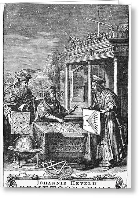 Johannes Hevelius Greeting Card