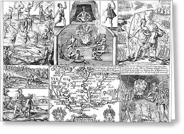 John Smith (1580-1631) Greeting Card