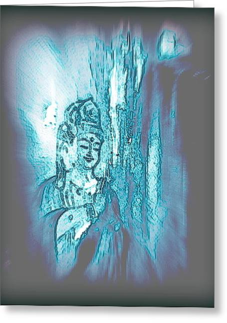 Many Faces Of  Kuan Yin  Greeting Card by Wendy Wiese