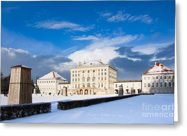 Nymphenburg Palace  Greeting Card by Andrew  Michael
