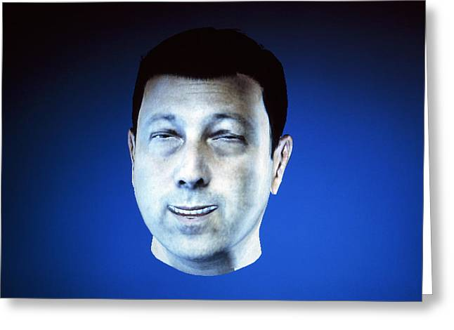 Personalised Virtual Avatar Greeting Card by Volker Steger