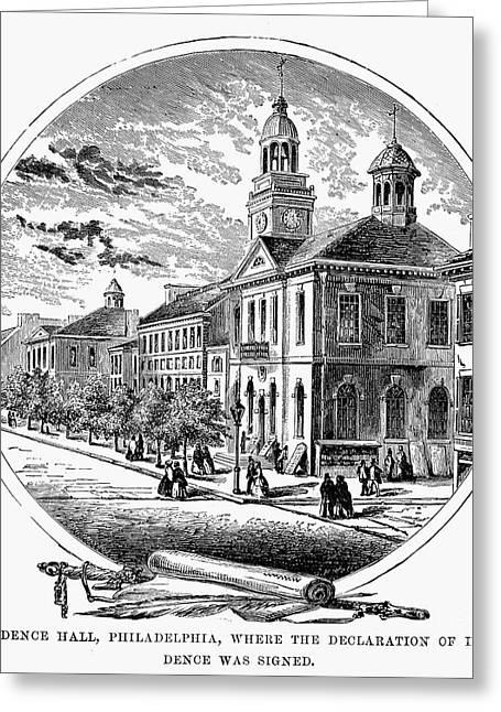 Philadelphia State House Greeting Card by Granger