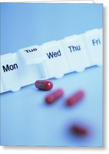 Pill Box Greeting Card