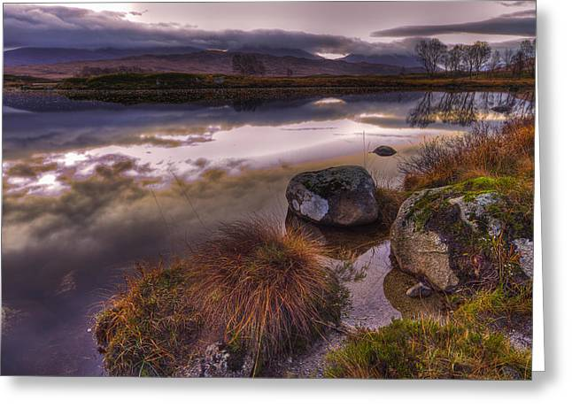 Rannoch Moor Glencoe Scotland Greeting Card