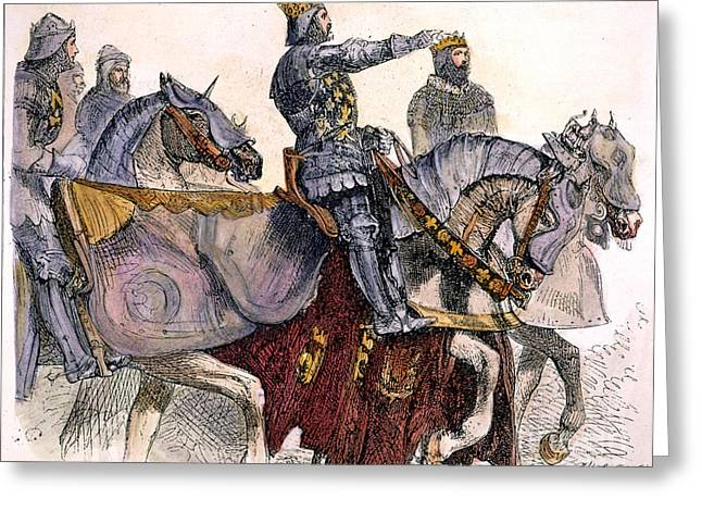 Shakespeare: King Henry Iv Greeting Card by Granger