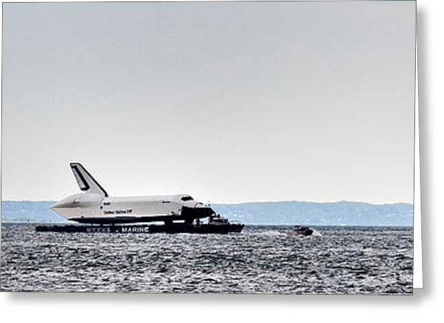 Shuttle Enterprise Greeting Card by Roni Chastain