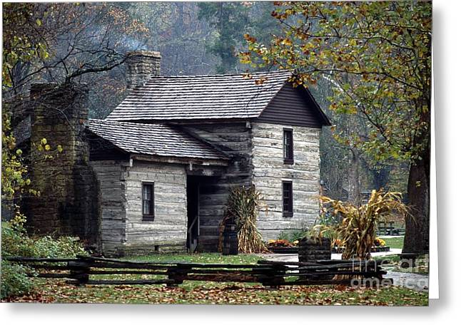 Spring Mill State Park - Indiana Greeting Card by Jack R Brock