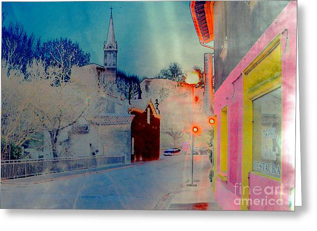 Street-2012 Greeting Card by Peter Szabo