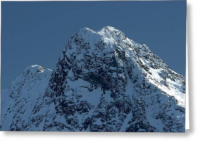 Tatra Mountains Winter Scenery Greeting Card by Waldek Dabrowski