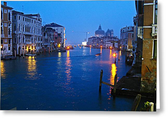 Venice Italy Fine Art Print Greeting Card by Ian Stevenson