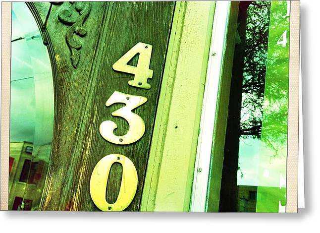 4300 Greeting Card by Lori Knisely