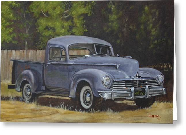 '47 Hudson Greeting Card