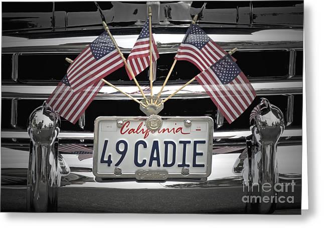 49 Caddy Greeting Card by Gwyn Newcombe