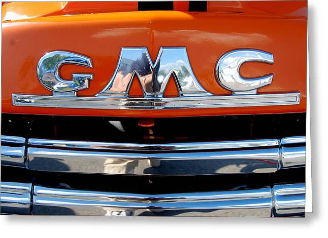 Greeting Card featuring the photograph '49 G M C by John Schneider