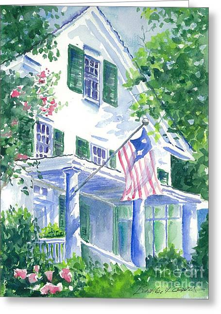4th Of July In Georgia Greeting Card by Bambi Rogers