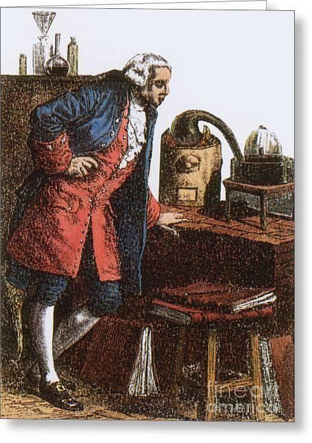 Antoine-laurent Lavoisier, French Greeting Card