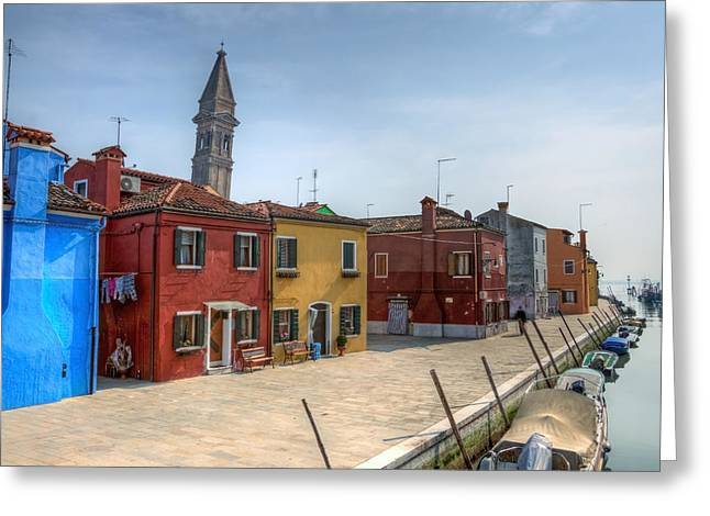 Burano - Venice - Italy Greeting Card by Joana Kruse