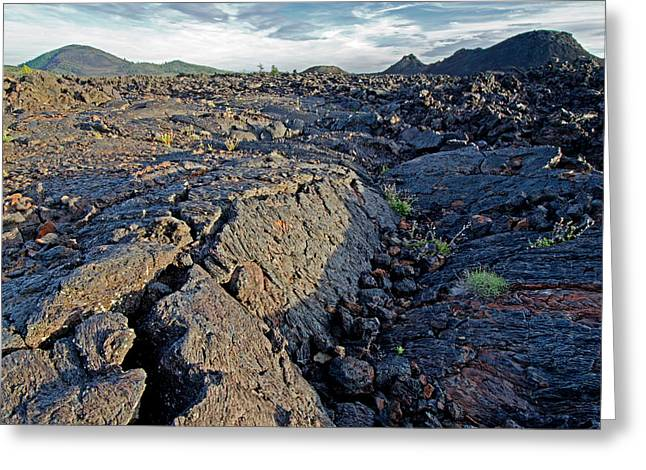 Craters Of The Moon Greeting Card by Elijah Weber
