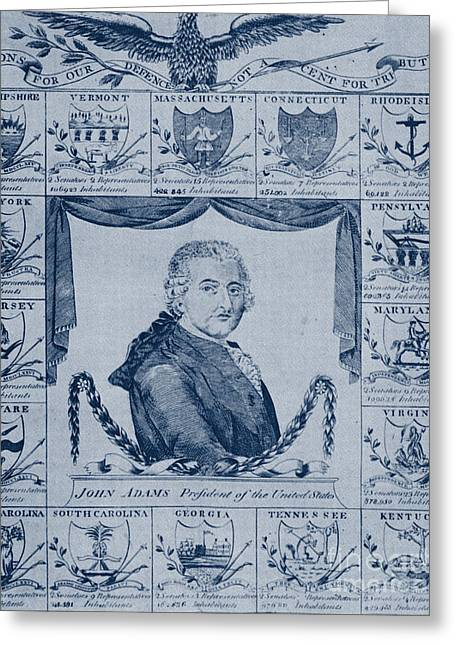 John Adams, 2nd American President Greeting Card