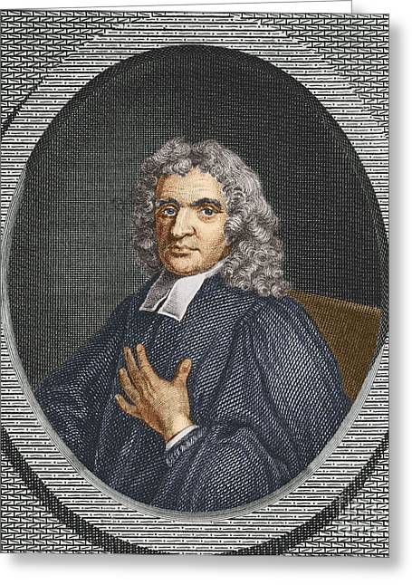 John Flamsteed, English Astronomer Greeting Card by Science Source