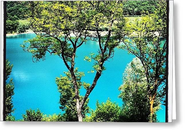 Lake Of Tenno Greeting Card