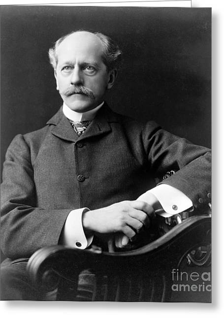 Percival Lowell, American Astronomer Greeting Card