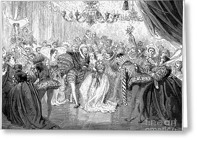 Perrault: Cinderella, 1867 Greeting Card by Granger