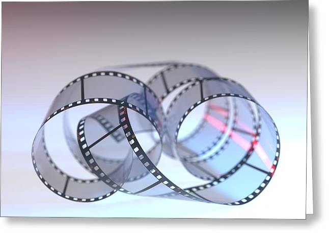 Photographic Film Greeting Card by Tek Image