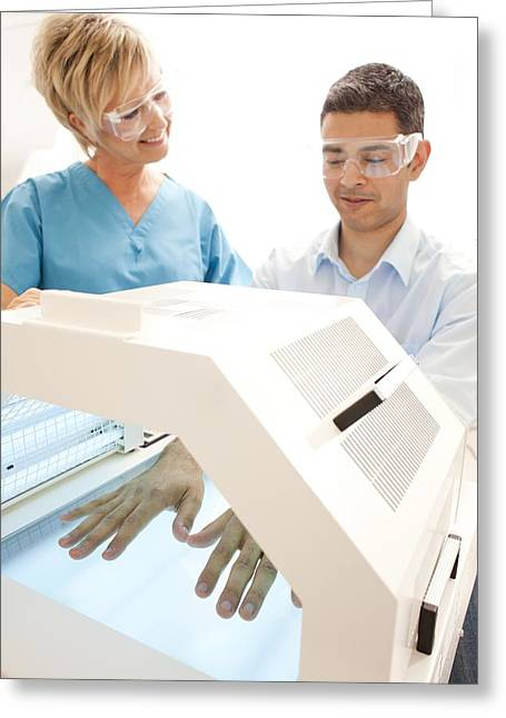 Phototherapy Greeting Card