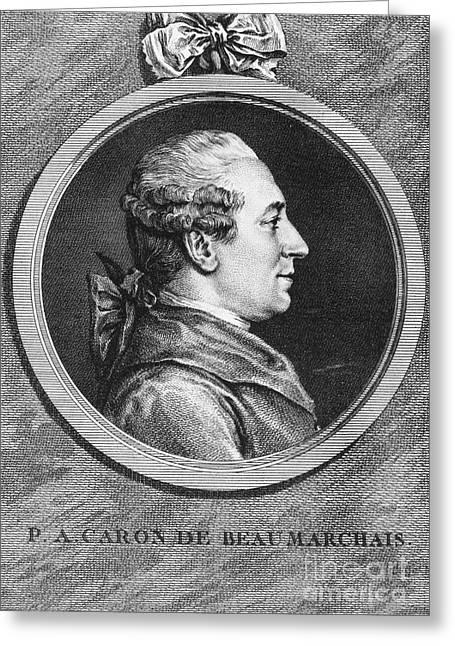 Pierre De Beaumarchais Greeting Card by Granger
