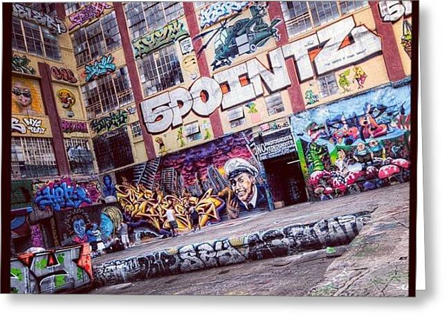 5 Pointz Greeting Card