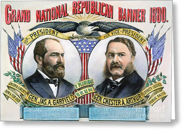 Presidential Campaign, 1880 Greeting Card by Granger