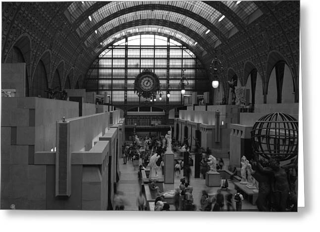 5 Seconds In The Musee D'orsay Greeting Card by Loud Waterfall Photography Chelsea Sullens