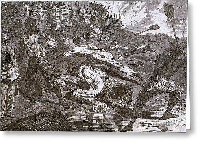 Siege Of Vicksburg, 1863 Greeting Card by Photo Researchers