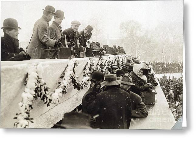 Taft Inauguration, 1909 Greeting Card