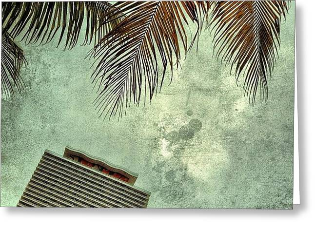 50 Biscayne - Miami Greeting Card