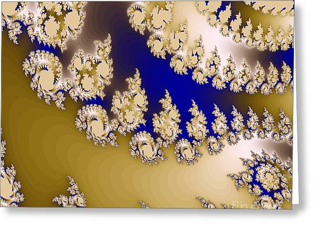 Fractal Greeting Card by Odon Czintos