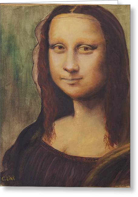 500 Years After Davinci Greeting Card