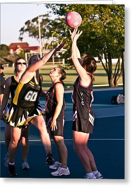 Australian Deaf Games 2012 Greeting Card by Edan Chapman