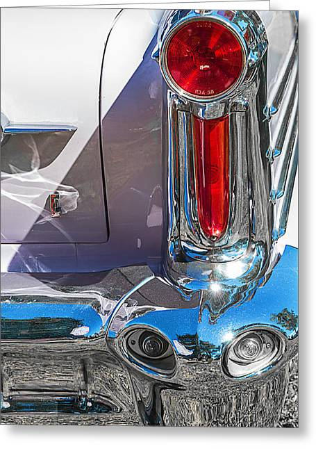 58 Olds Greeting Card by Jim Hatch