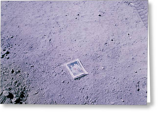 Apollo Mission 16 Greeting Card by Nasa