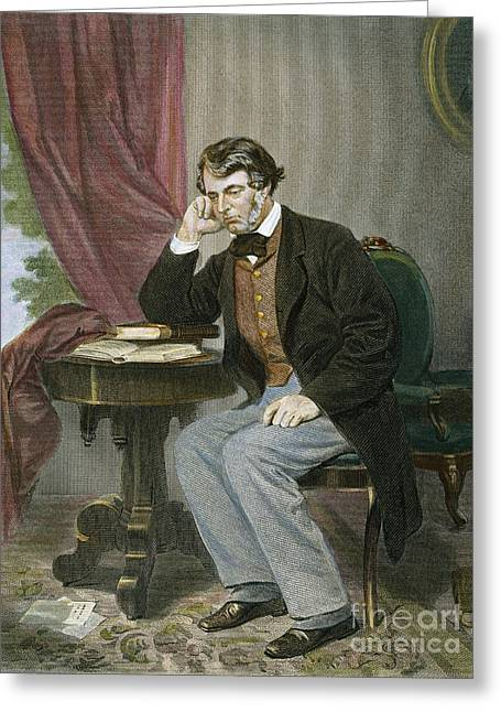 Charles Sumner (1811-1874) Greeting Card