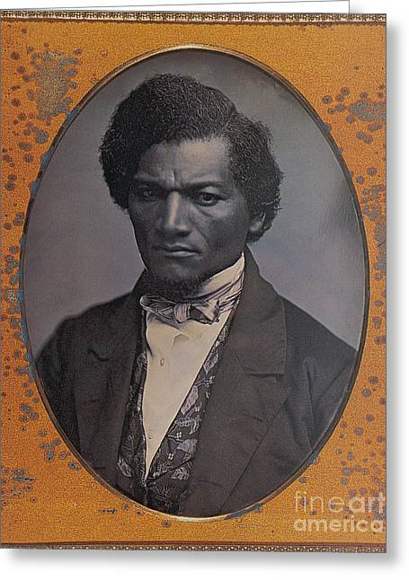 Frederick Douglass, African-american Greeting Card