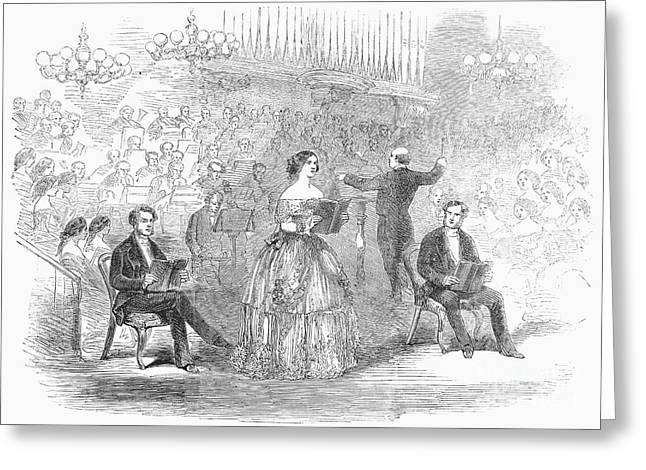 Jenny Lind (1820-1887) Greeting Card